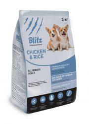 BLITZ ADULT CHICKEN & RICE в новой упаковке