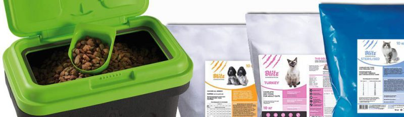 Как хранить сухой корм для собак и кошек