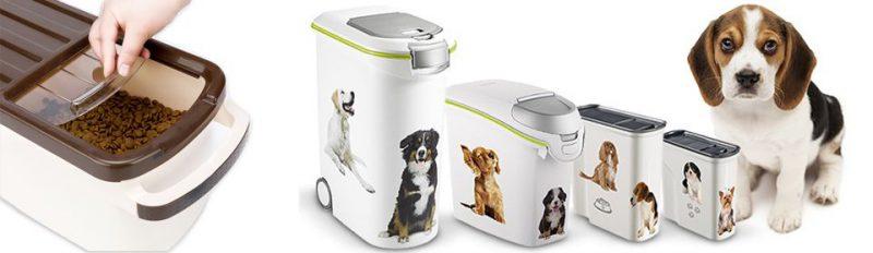 Как хранить сухой корм для собак