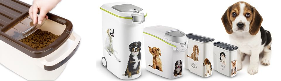 Хранение сухого корма для собак