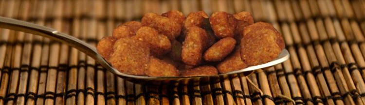 Сколько грамм сухого корма в столовой ложке?