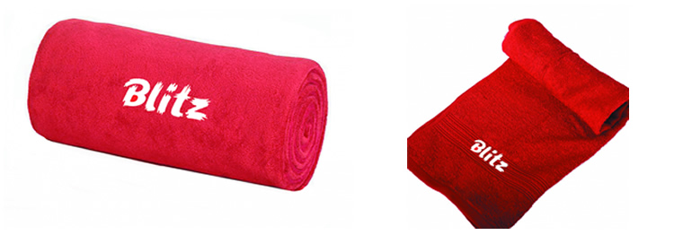 Плед и полотенце Blitz