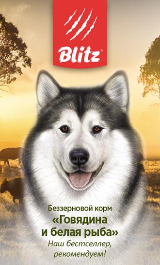 Blitz Holistic Говядина и Белая рыба